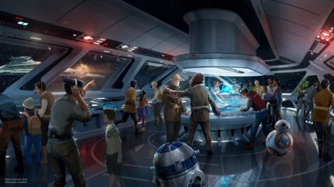 Star Wars Disney Parks galaxys edge Resort Concept Art 2