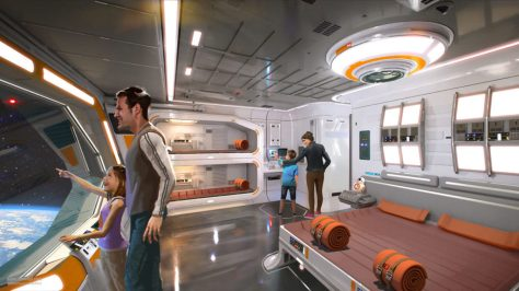 Star Wars Disney Parks galaxys edge Resort Concept Art 3