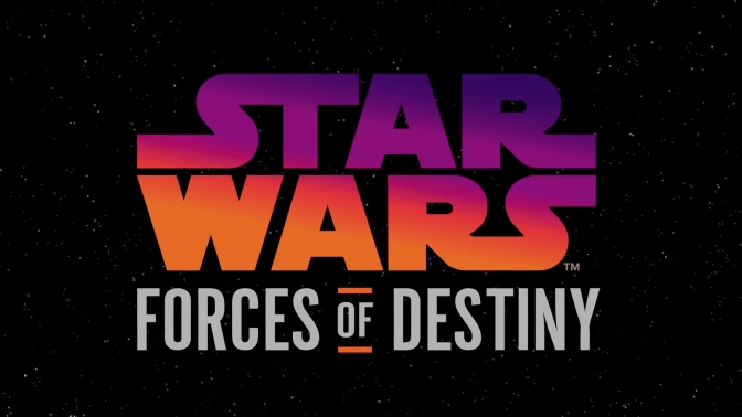 Star Wars Forces Of Destiny Brand Emblem and Logo