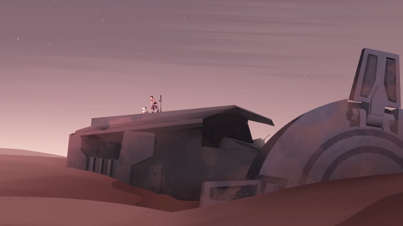 Star Wars Forces Of Destiny The Sands Of Jakku - Rey's Home