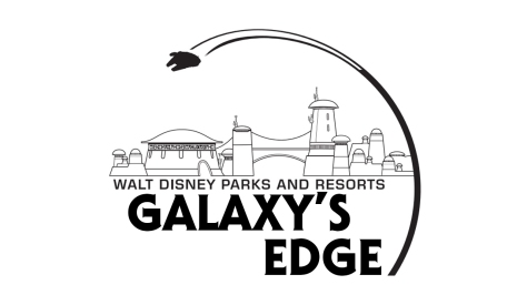 Star Wars - Galaxy's Edge Walt Disney Parks and Resorts Logo