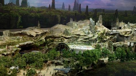 Star Wars Land Model at Disney D23 2017 - Hi Res HD 1920 Images