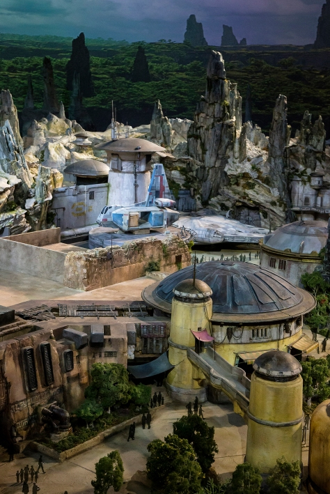Star Wars Land Model at Disney D23 2017 - Hi Res HD 1920 Images