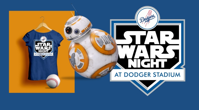 Star Wars Night 2017 at The LA Dodgers