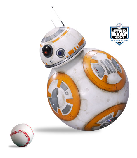 Star Wars Night Dodgers Logo Transparent Background PNG