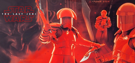Star Wars The Last Jedi Elite Praetorian Guard Poster