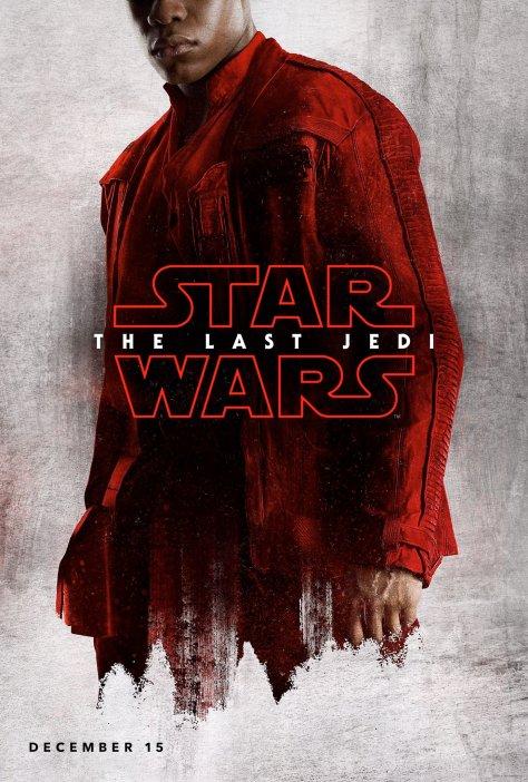 Star Wars The Last Jedi Teaser Character Posters FINN