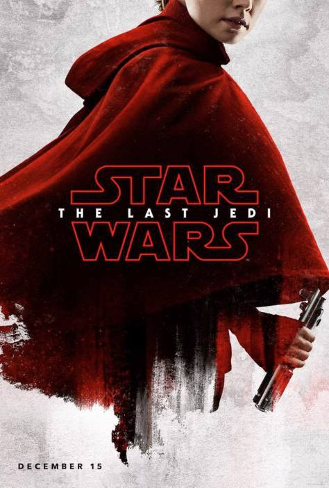 Star Wars The Last Jedi Teaser Character Posters REY