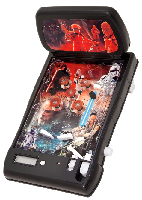 Star Wars The Last Jedi Walmart Pinball Machine Leak