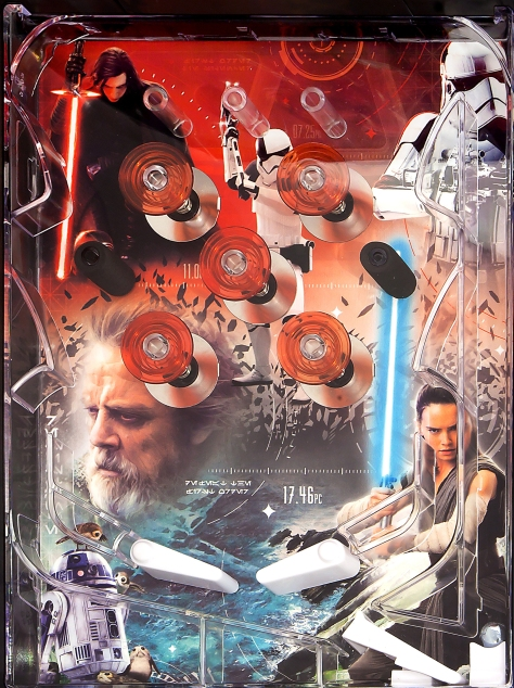 Star Wars The Last Jedi Walmart Tabletop Pinball Machine Leak