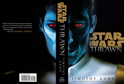 Star Wars Thrawn by Timothy Zahn Book Cover Alternative