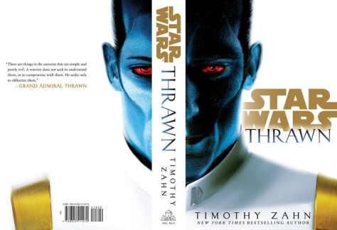 Star Wars Thrawn by Timothy Zahn Book Cover
