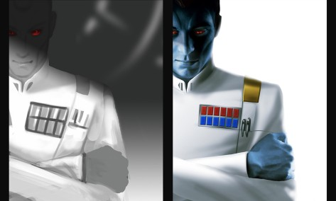 The Concept Art of Star Wars Thrawn the Book