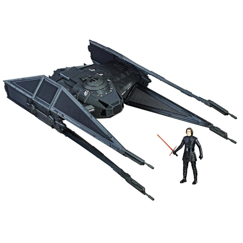 Hasbro Star Wars The Last Jedi Toys Exclusive _ Kylo Ren and the Tie Silencer