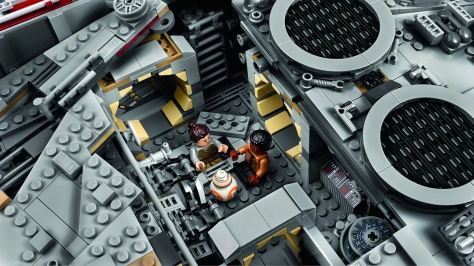 Star Wars Lego - The 7,541 Piece Lego Millennium Falcon - Largest Lego Set in the World _ 1