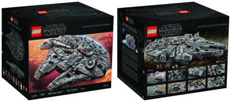 Star Wars Lego - The 7,541 Piece Lego Millennium Falcon - Largest Lego Set in the World _ 2