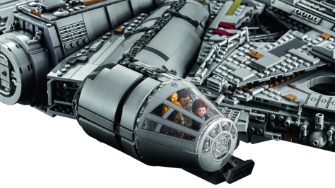 Star Wars Lego - The 7,541 Piece Lego Millennium Falcon - Largest Lego Set in the World _ 3