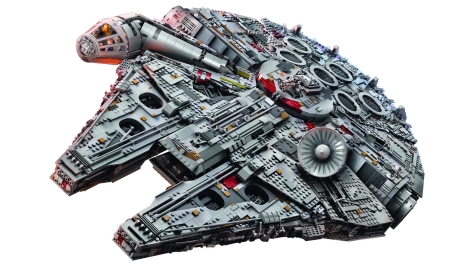 Star Wars Lego - The 7,541 Piece Lego Millennium Falcon - Largest Lego Set in the World _ 4