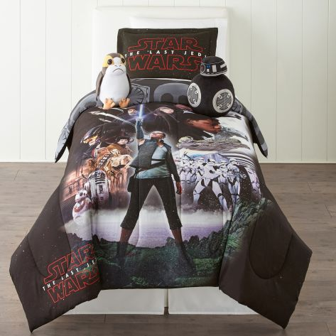 Star Wars The Last Jedi Character Bedding Set _ 1