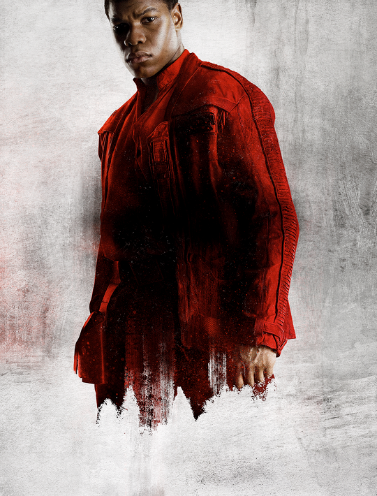 Star Wars The Last Jedi Character Posters uncropped and without text Finn