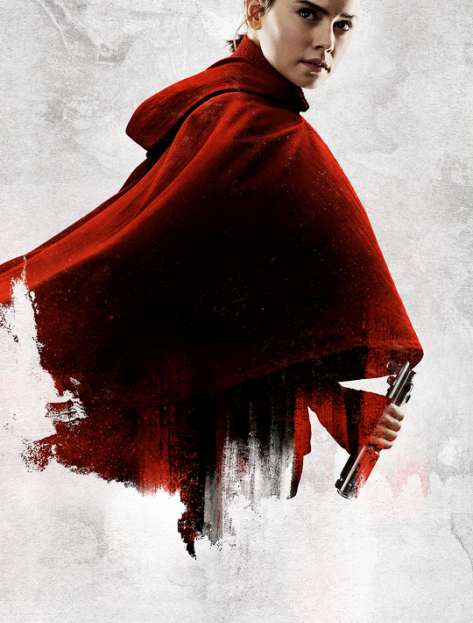 Star Wars The Last Jedi Character Posters uncropped and without text Rey Force Vergence