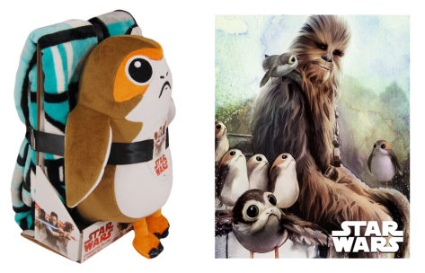 Star Wars The Last Jedi Chewbacca and the Porgs Merchandise