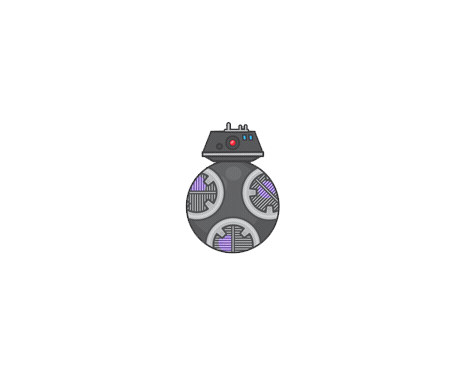 Star Wars - The Last Jedi Emoji BB-9E