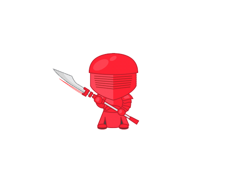 Star Wars - The Last Jedi Emoji Elite Praetorian Guard