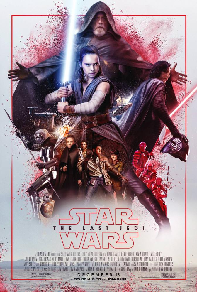 Star Wars The Last Jedi Fan Art Poster by shine_o