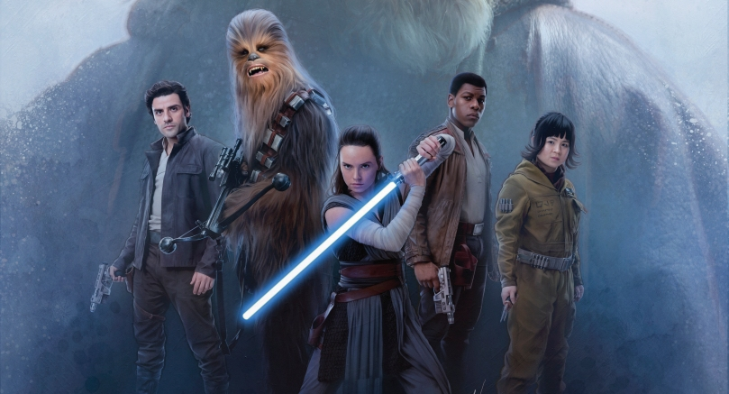 Star Wars The Last Jedi New Promo Images Ultra Hi Resolution Luke and the Resistance Banner