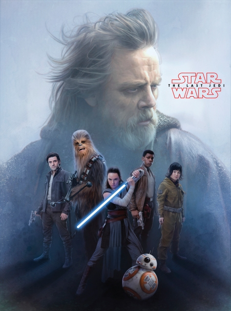Star Wars The Last Jedi New Promo Posters Ultra Hi Resolution Luke and the Resistance