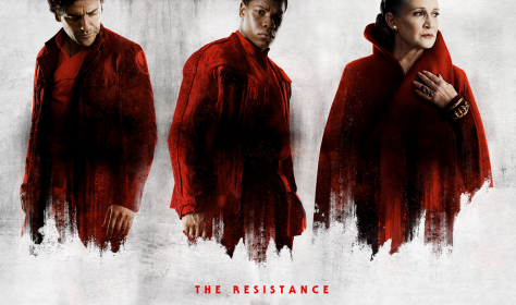 Star Wars The Last Jedi Resistance Character Posters uncropped and without text