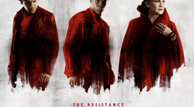 The Last Jedi Character Posters (uncropped and without text)