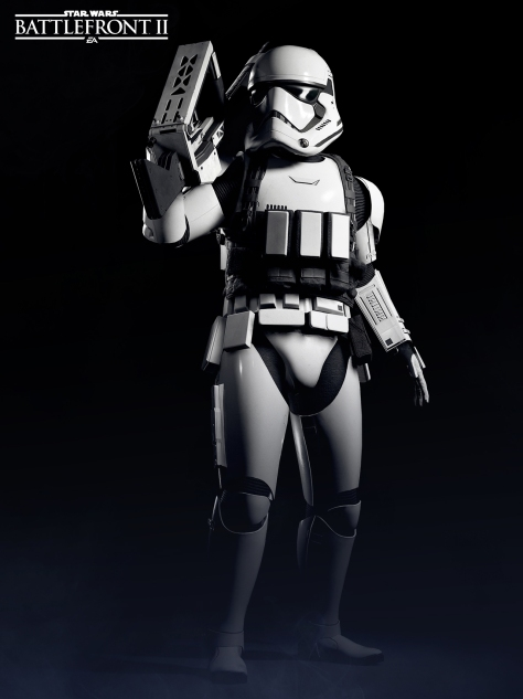 The Last Jedi Wallpaper Heavy Stormtrooper EA Battlefront 2 Poster