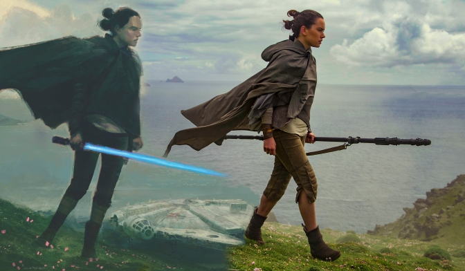 Art of the Last Jedi Header