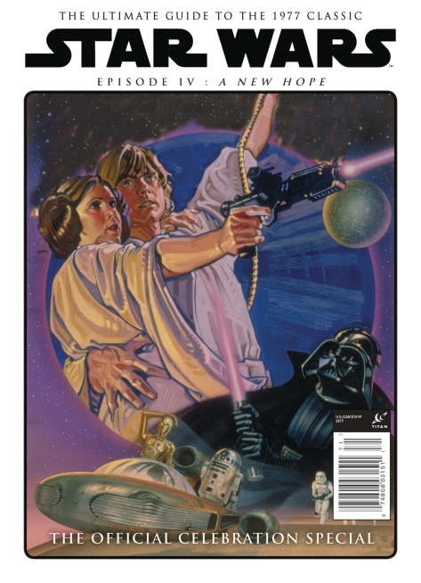 Star Wars A New Hope - The Official Celebration Special - Charles White III and Drew Struzan Cover