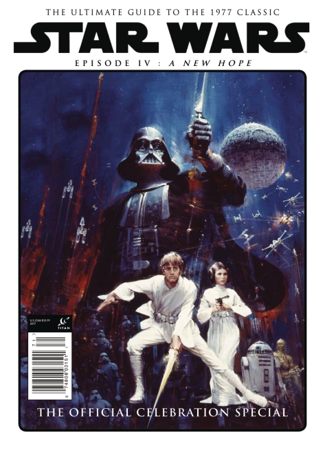 Star Wars A New Hope - The Official Celebration Special - John Berkey Cover