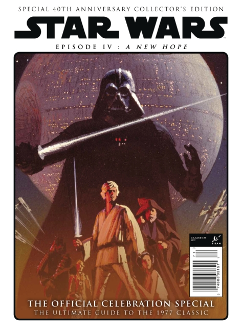 Star Wars A New Hope - The Official Celebration Special - Ralph McQuarrie Cover