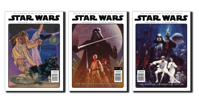 Star Wars A New Hope - The Official Celebration Special - The Covers