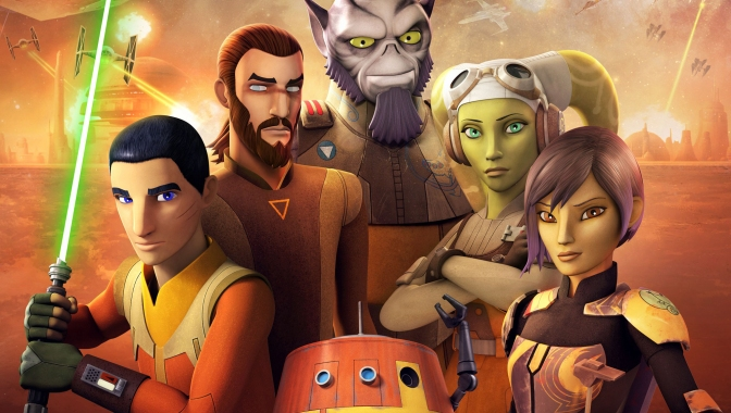 Star Wars Rebels Season 4 KeyArt Poster HD Large Hi-Res Banner
