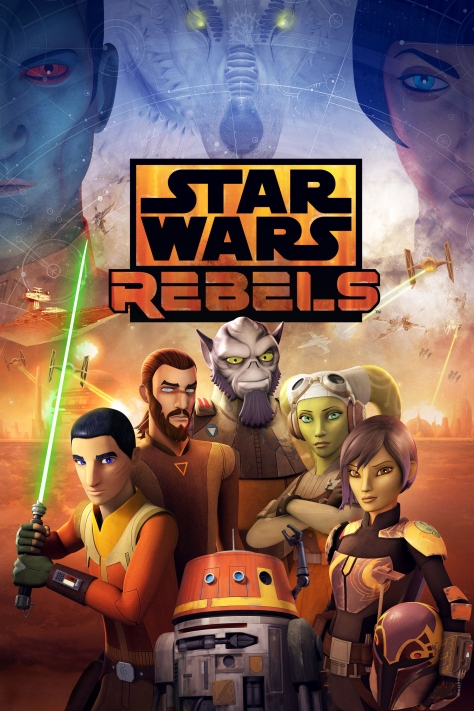 Star Wars Rebels Season 4 KeyArt Poster HD Large Hi-Res