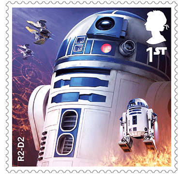 Star Wars Royal Mail UK Stamps 2017 Droids and Aliens R2-D2 Revenge of the Sith