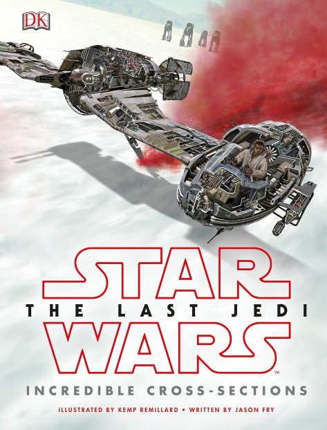 Star Wars The Last Jedi Cross Sections Cover DK