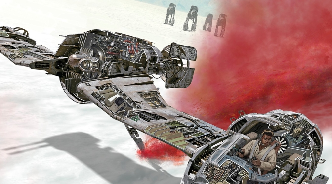 Star Wars : The Last Jedi Incredible Cross-Sections