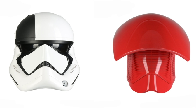 The Last Jedi – Helmets from Anovos