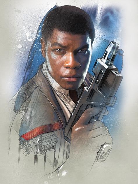 Star Wars The Last Jedi New Promo Character Art -Finn