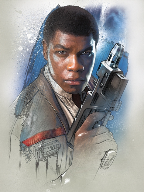 Star Wars The Last Jedi New Promo Character Art -Finn