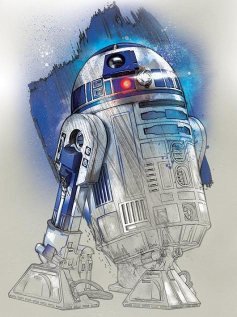Star Wars The Last Jedi New Promo Character Art -R2-D2