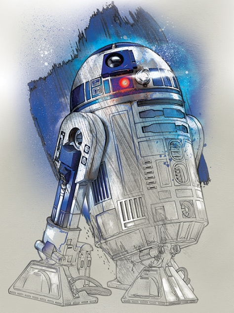 Star Wars The Last Jedi New Promo Character Art -R2-D2