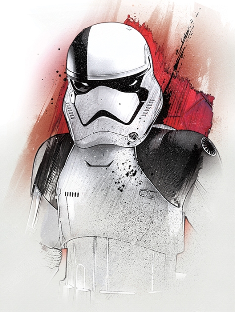 Star Wars The Last Jedi New Promo Character Art -Stormtrooper Executioner